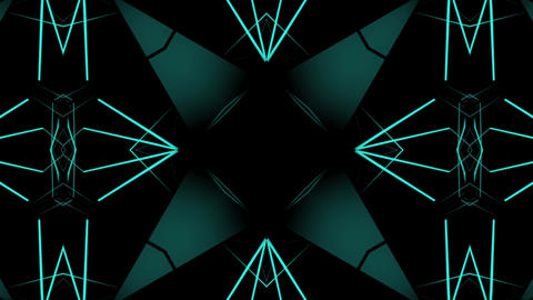 Geometric Kaleidoscope Animation