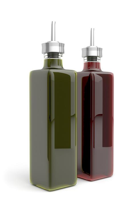 Olive oil and vinegar Photo