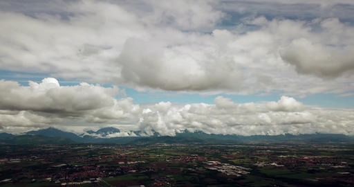 Aerial View Of Po Valley In Northern Italy GIF