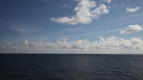 Quiet seascape Footage