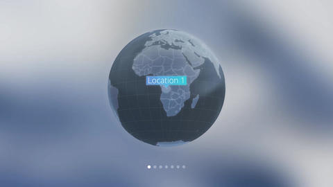Globe Motion Graphics Template