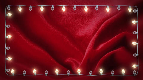 Christmas Title Background 002 stock footage