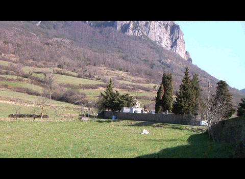 Bugarach Mont 3 Stock Video Footage