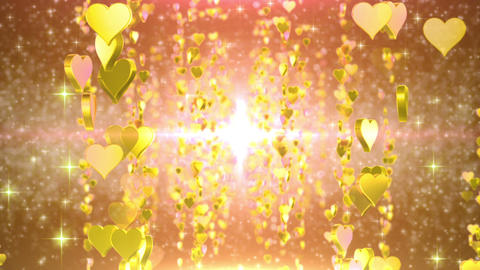 heart particule line 01B Stock Video Footage