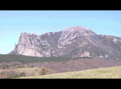 Bugarach Monta Stock Video Footage