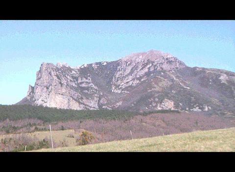 Bugarach Monta Stock Video Footage