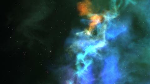 Nebula Journey Stock Video Footage