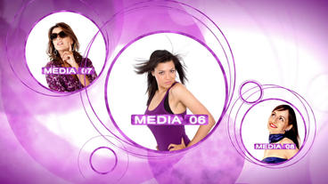 Fashion Orbs - After Effects Template After Effects Template
