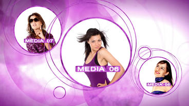 Fashion Orbs - After Effects Template After Effects Project