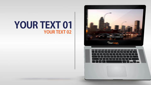 Laptop 15s Commercial - After Effects Template After Effects Template