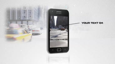 Multi Phone 15s Commercial - After Effects Template After Effects Project