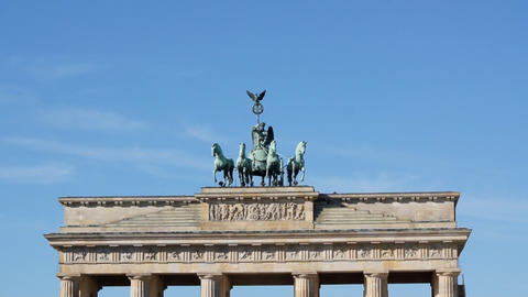Brandenburg Tor Stock Video Footage