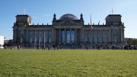 Reichstag Stock Video Footage