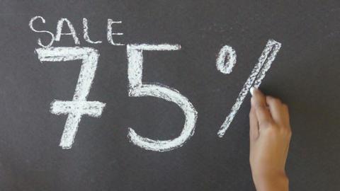 75% Off Sale Footage