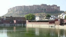 Fort in Jodhpur Stock Video Footage
