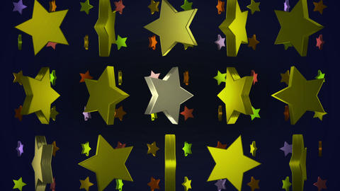 star 3d BG 01 B Animation