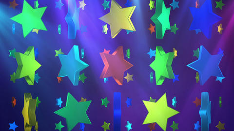 star 3d BG 01 D Animation