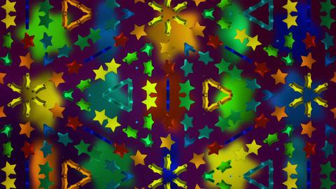 star 3d kaleid BG 02 D Animation
