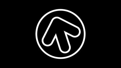 circle arrow Stock Video Footage