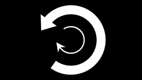 orbit arrow Stock Video Footage
