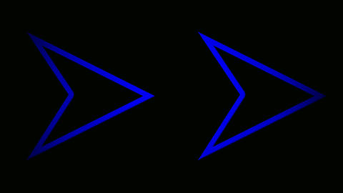 triangle blue Animation