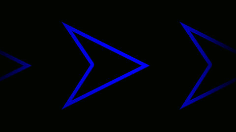 triangle blue Stock Video Footage
