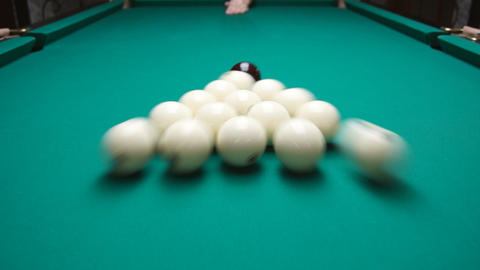 Russian Billiard Footage