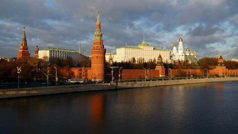Moscow Kremlin Stock Video Footage