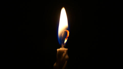 Candle Light Stock Video Footage