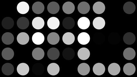 mosaic dot Stock Video Footage