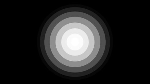circle overlay Stock Video Footage