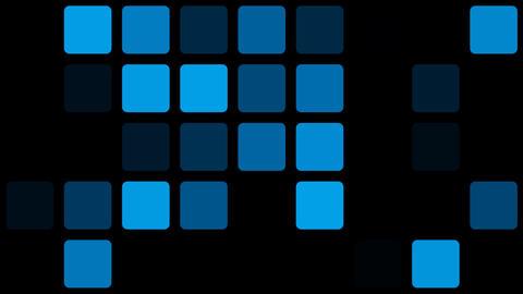 blue mosaic Stock Video Footage