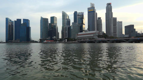 Singapore Business Center Footage