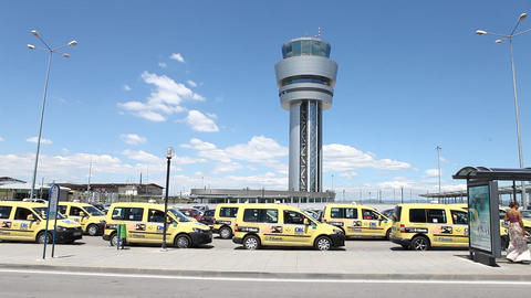 Airport Exterior Live Action