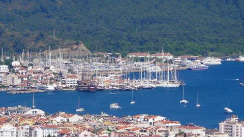 Marmaris, Turkey, Daily life Summer Travel Destination Live Action