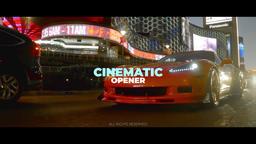 Cinematic Opener 프리미어 프로 템플릿