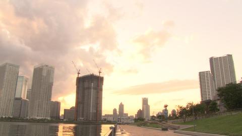 river sunset 03 動画素材, ムービー映像素材