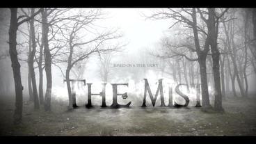 THE MIST title intro 애프터 이펙트 템플릿