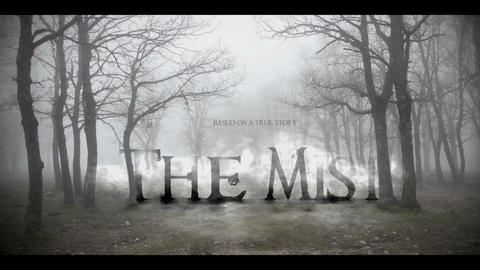 THE MIST title intro After Effects Template