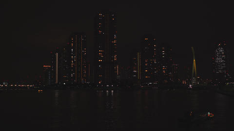 Tokyo night view Live Action