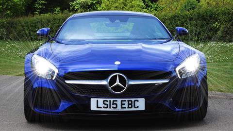 Daimler mercedes car drive vehicle Live Action