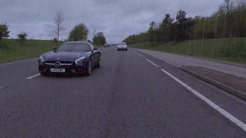 Mercedes car luxury motor auto Live Action