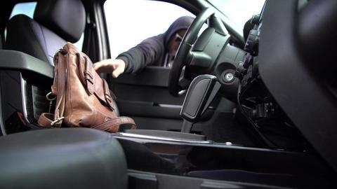 Thief bag car stealing criminal Live Action