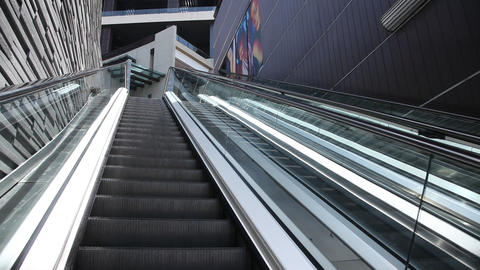 Escalators Footage