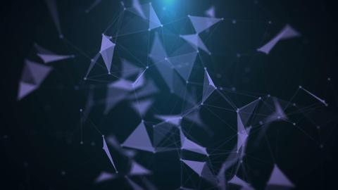 Futuristic Plexus Background Footage