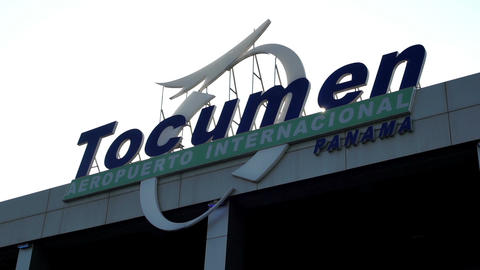 Tocumen International Airport in Panama Footage