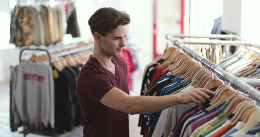 Portrait of a store manager in clothing store Live Action