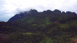 Aerial view at Doi Luang Chiang Dao, Chiang Mai Thailand ビデオ
