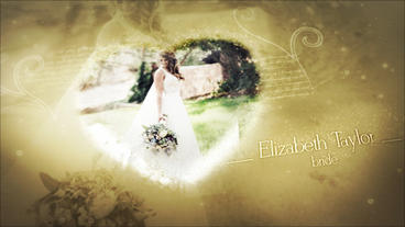 Wedding Photo Video Gallery After Effects Template
