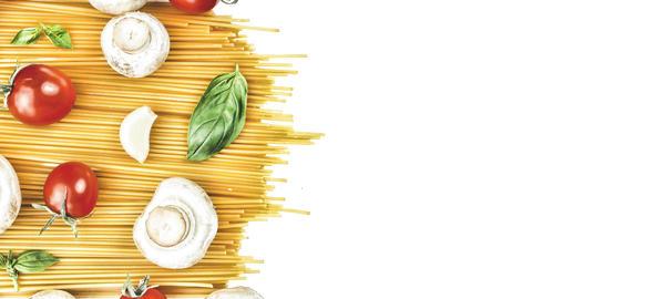 Pasta, raw pasta, spaghetti, Italian pasta, Vegetarian pasta, Ve Photo